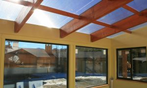 polycarbonate greenhouse roof