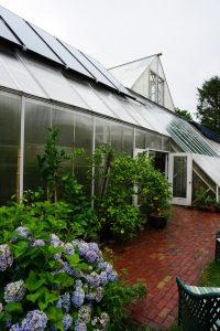 Net-zero energy greenhouse at the Green Center