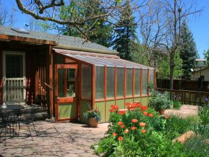 Attached custom greenhouse
