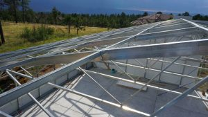 Ceres HighYield Greenhouse Roof Framing