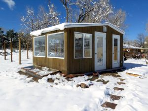 Year-Round Greenhouse and chicken coop_Ceres Greenhouses