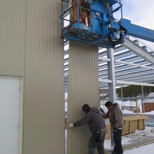 Commercial Greenhouse Install