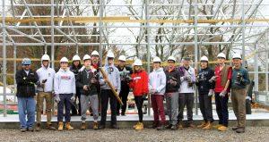 school greenhouse team