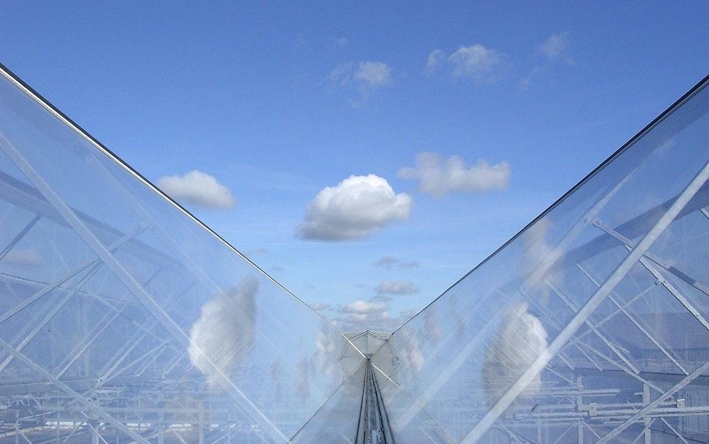 ETFE glazing on a greenhouse