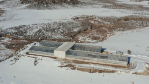 Ceres modular greenhouse in SW CO