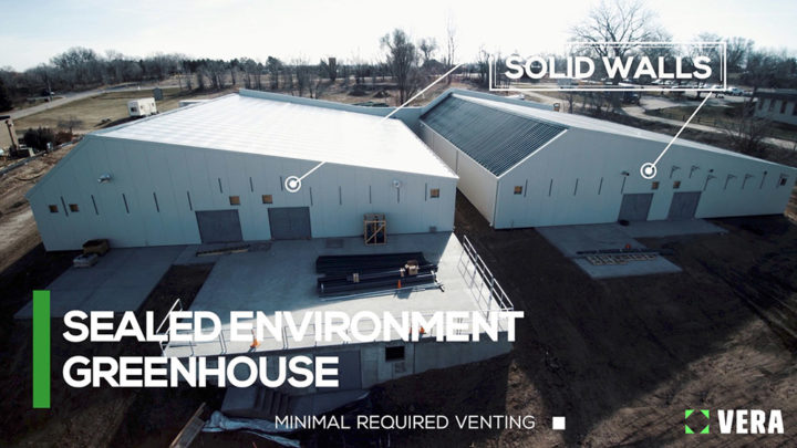 sealed environment greenhouse