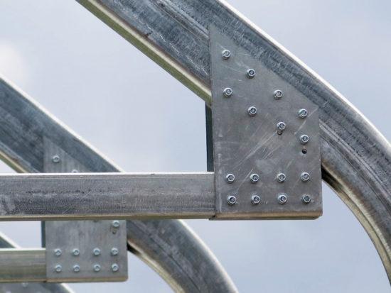 general steel plate detail