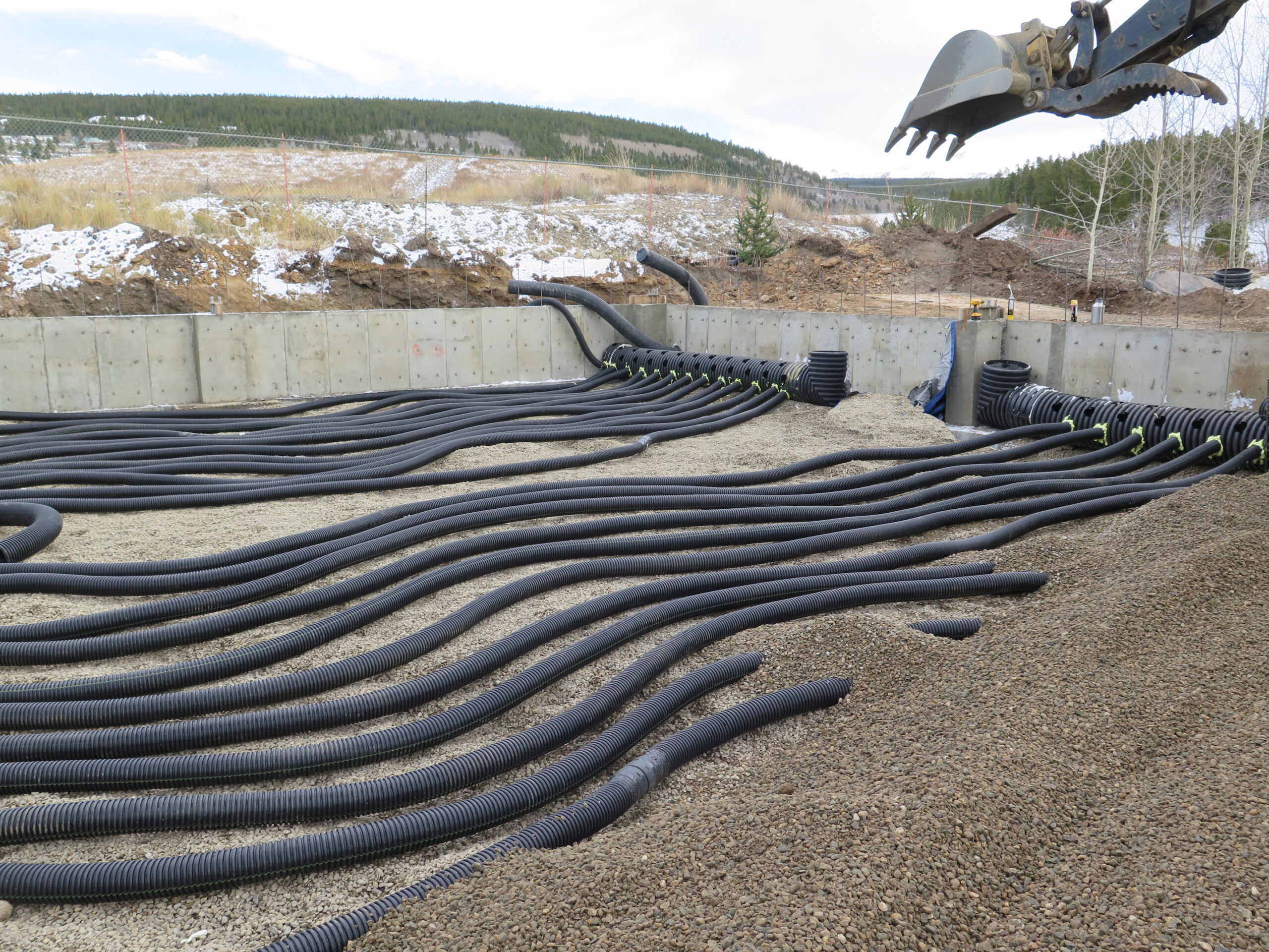 GAHT pipes install